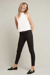 Anthropologie Dl1961 Margaux Mid Rise Black Skinny Jeans