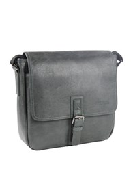 Kenneth Cole Reaction Pu Single Gusset Flapover Tablet Case0125 539655 Charcoal