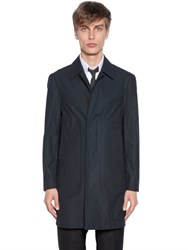 Thom Browne Superdry Waxed Cotton Raincoat