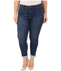 Nydj Plus Size Plus Size Anabelle Skinny Boyfriend In Echo Valley Echo Valley Women's Jeans Blue