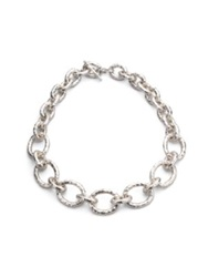 Ippolita Glamazon Sterling Silver Bastille Link Chain Necklace