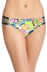 Trina Turk Women's 'Monaco' Shirred Bikini Bottoms