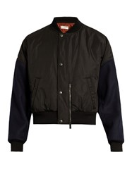 Balenciaga Padded Bomber Jacket Black