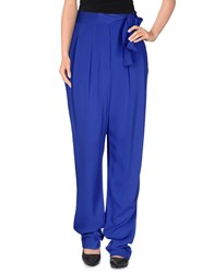 Diane Von Furstenberg Trousers Casual Trousers Women Bright Blue