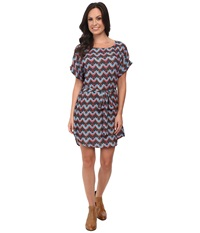 Rock And Roll Cowgirl Short Sleeve Dress D5 4477 Chocolate Women's Dress Brown