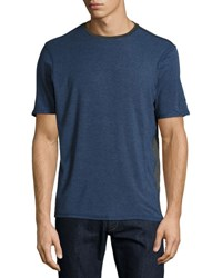 Revo Knits Short Sleeve Crewneck Jersey Tee Dark Navy