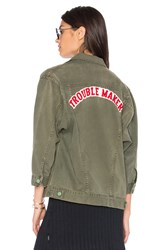 Sandrine Rose The Trouble Utility Jacket Army