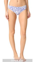 Calvin Klein Underwear Printed Invisibles Thong Simplicity Floral