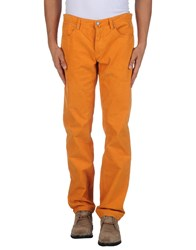 Jaggy Trousers Casual Trousers Men Orange