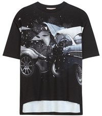 Christopher Kane Printed T Shirt Black