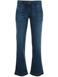 3X1 Cropped Jeans Blue