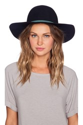 Hat Attack Round Crown Floppy Hat Navy