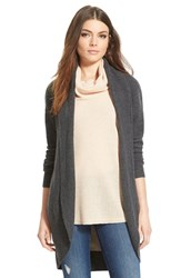 Women's Leith Cocoon Cardigan Grey Medium Charcoal Heather