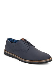 Ben Sherman Mickey Leather Loafers Navy