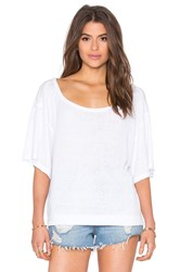Free People Penny Tee White