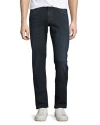 Hudson Slim Straight Leg Denim Jeans Polaris