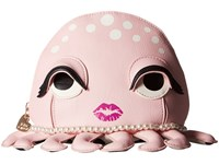 Betsey Johnson Kitch Octopus Cosmetic Blush Cosmetic Case Pink