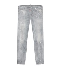 Dsquared2 Cool Guy Distressed Jeans Male Light Grey