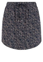 Vero Moda Vmsuper Easy Mini Skirt Black Iris Dark Blue