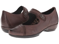 Aetrex Brianna Mary Jane Java Women's Maryjane Shoes Brown