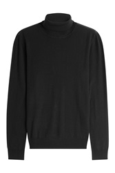The Kooples Merino Wool Turtleneck Black