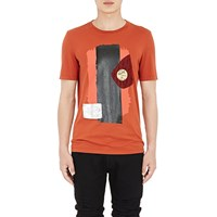 Maison Martin Margiela Come Party' T Shirt Rust