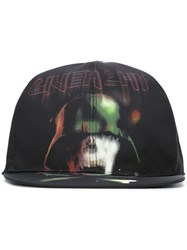 Givenchy Army Skull Baseball Cap Black