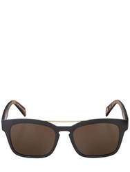 Italia Independent Square Acetate Sunglasses