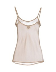 Only 4 Stylish Girls By Patrizia Pepe Tops Khaki