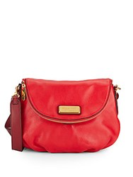 Marc By Marc Jacobs Classic Q Natasha Two Tone Leather Crossbody Bag