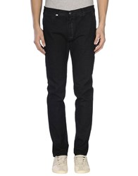 Grey Daniele Alessandrini Denim Denim Trousers Men Black