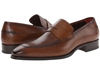 Mezlan Toulon Cognac Men's Slip On Shoes Tan