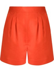Andrea Marques High Waisted Tailoring Short Yellow And Orange