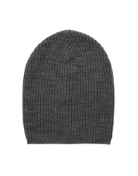 Asos Lightweight Oversized Knitted Beanie Grey
