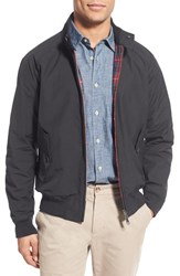 Baracuta Men's 'G9' Water Repellent Harrington Jacket Steel