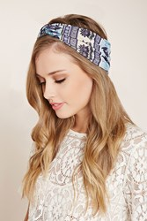 Forever 21 Ornate Floral Print Headwrap