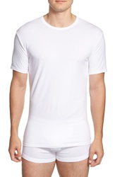 Calvin Klein Stretch Cotton Crewneck T Shirt 2 Pack White