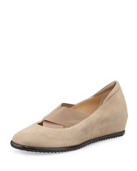 Amalfi By Rangoni Elio Hidden Wedge Slip On Sand Natural