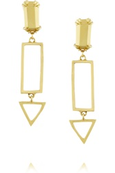 Gemma Redux Gold Plated Earrings