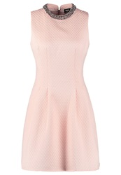 Oasis Adonia Cocktail Dress Party Dress Pale Pink Rose