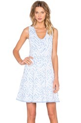 John And Jenn By Line Almina Shift Dress Baby Blue