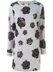 Kenzo 'Mini Tiger' Dress Grey