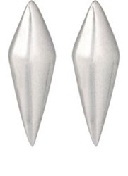 Wendy Nichol Double Cone Stud Earrings Colorless