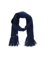 Duck Farm Oblong Scarves Blue