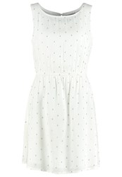 Tom Tailor Denim Summer Dress Off White