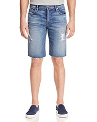 Joe's Jeans Diaby Cutoff Denim Shorts In Blue