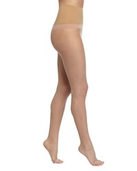 Commando The Keeper Toeless Tights Size M Medium Nude