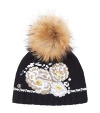 Bogner Philly Bobble Hat Female Black