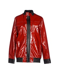 Anthony Vaccarello Jackets Red