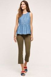 Anthropologie J Brand Selena Crop Jeans Trooper